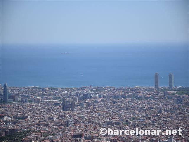 バルセロナ・ティビダボの絶景
