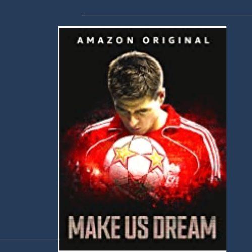 Amazonプライムビデオのサッカードキュメンタリー・スティーブン・ジェラード