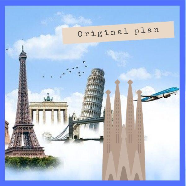 ヨーロッパへの新婚旅行・ヨーロッパ周遊