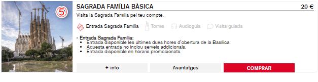 サグラダファミリアのチケットの種類・公式サイトでの買い方
