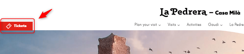 カサミラのツアーチケット予約方法!バルセロナのガウディ建築