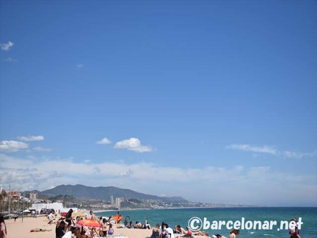 バルセロナのおすすめビーチ・バダロナ!アクセスと観光