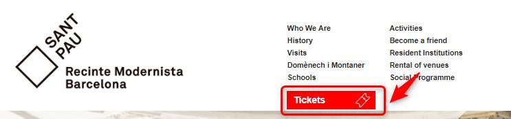サンパウ病院のチケット予約・公式サイトでの買い方とアクセス