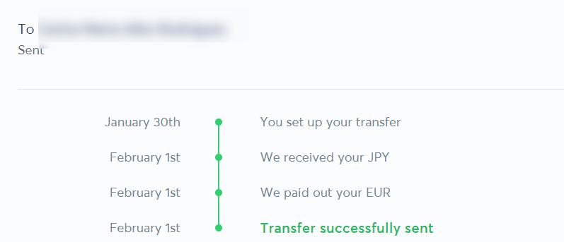 トランスファーワイズで海外送金にかかる日数