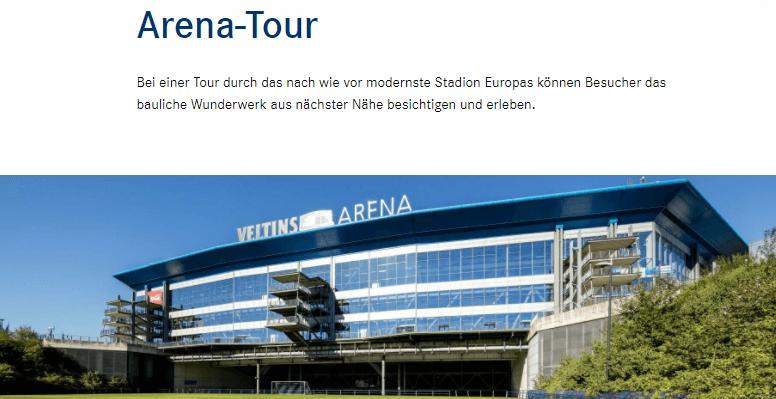 シャルケのホームスタジアムツアー・フェルティンスアレーナ
